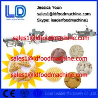 Best Screw self-cleaning 3D Snack Pellet Machinery for fried snacks , Pellets Extruding Machine wholesale