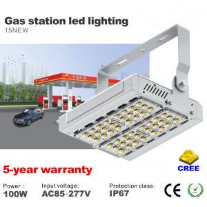 Best 100W LED Tunnel light CREE SMD Gas Station LED Lighting IP67 Waterproof Flood light wholesale