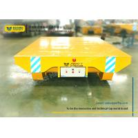 Best Shipyard use motorized towed rail transfer platform cart on ramp wholesale