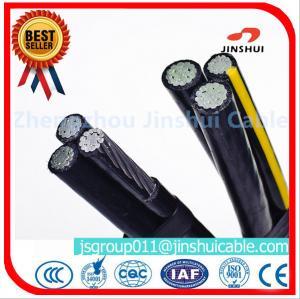 Best 3 * 70 + 70 Sq Mm Aluminum Overhead Power Cables Quaduplex Wire Eco - Friendly wholesale