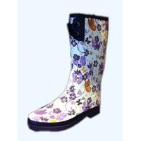 China Slip Resistent Womens Rain Boot Experimental Friendly For Working on sale