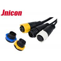Best JNICON M19 Waterproof Plug Socket Electrical IP67 High Refined Copper Contact wholesale