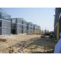 China Steel Frame Apartment Building / Typhoon Resistance Prefabricated Apartment on sale