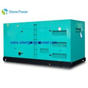 50HZ / 1500rpm Water Cooled Diesel Generator , Super Silent Diesel Generator
