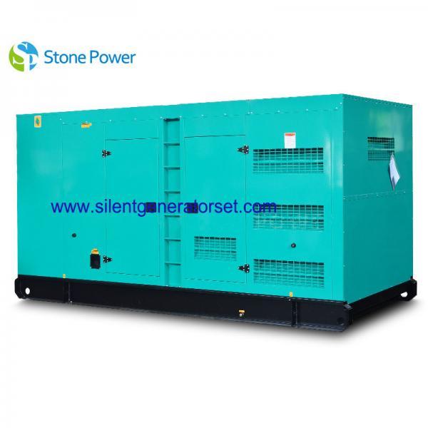 Cheap 50HZ / 1500rpm Water Cooled Diesel Generator , Super Silent Diesel Generator for sale
