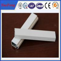 China decorative powder coating aluminum door profiles, supply aluminum building extrusion on sale