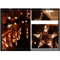 Best Home LED Curtain Christmas Lights 0.7m Strings Stars Shaped Decoration wholesale
