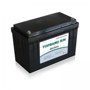 Best 48V 25Ah Electric Lawn Mower Lithium Iron Phosphate Battery IP65 Rating wholesale