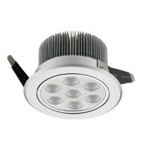 Best 21W 120mm Diameter LED Downlight With Adjustable Angle Used For Commercial Lighting wholesale