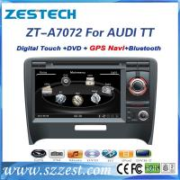 Buy cheap Touch screen car dvd player for Audi TT with gps navigation system from wholesalers