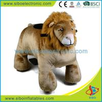 Best Coin Operated Plush Motorcycle Animales a Bateria Para Centros Comerciales wholesale