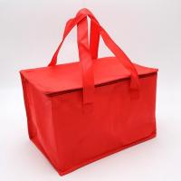 Cheap Accept customized logo and packing non woven insulated lunch thermal cooler bag for sale