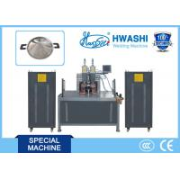 China Hwashi CCC/ CE Qualified Horizontal Type Stainless Steel Pot Ear Welding Machine with one year warranty on sale