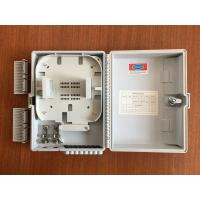 China FTTH wall mounted Fiber Optic Distribution Box with 1x8  lgx splitter , ISO Approval on sale