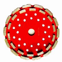 "Buy cheap 7"" Diamond Tools Double Row Diamond Cup Wheels for Handhold Grinders from wholesalers"