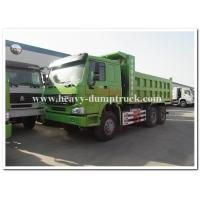 HOWO  336 hp new condition diesel fuel type dump truck with Q345 Steel heavy tipper