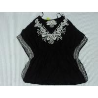 Best Black Fashion Nation Wind Ladies / Womens Knit Tops With Special Design wholesale