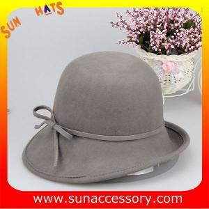 Best T2991236 Sun Accessory customized  winner  fashion 100% wool felt cloche hats, women hats and caps wholesaling wholesale