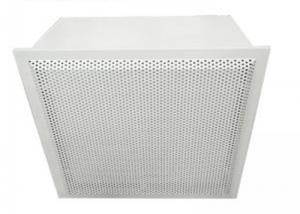 Best Cleanroom Hepa Filter Terminal Box Class 10000 For Electronic Plant wholesale