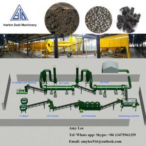Best 3 Ton/ hour Organic fertilizer granulation machine production line/fertilizer plant wholesale