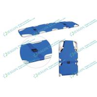 Best Safety two folded aluminum alloy Ambulance stretcher with belts / first aid stretchers wholesale