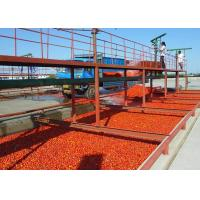 Best High Effiency Vegetable Processing Line Tomato Puree Production Line With Aseptic Filling System wholesale