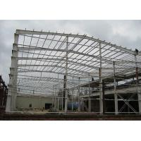 China ISO Certificated Prefab Steel Buildings / Prefab Gym Buildings With Steel Shed on sale