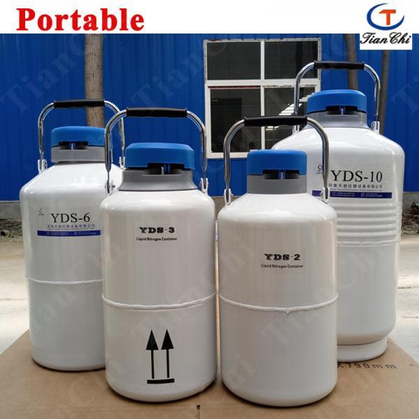 Liquid nitrogen transport tank 35L cacuum container manufacturer