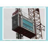 China Heavy Load Capacity Man And Material Hoist , High Speed Construction Hoist on sale