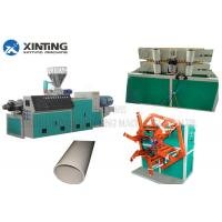China Automatic PVC Pipe Making Machine , Plastic Pipe Extrusion Line ABB Invertor on sale