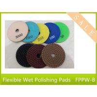 China wet flexble polishing pads  3  4 5 thick 2mm for polishing stone granite concrete  power tool on sale
