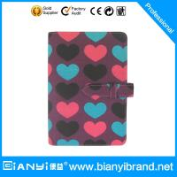 Best Fabric cover note book with refiller paper A5 size wholesale