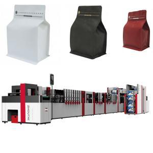 Best Laminated Film Flat Bottom Pouch Making Machine 650mm Width High Speed wholesale