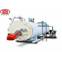 Best 4000 Kgh 4 Ton Industrial Diesel Oil Steam Boiler 200 Hp For Rice Mill , Texile Mill wholesale