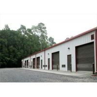 China Square Tube H Steel Sandwich Panel Metal Garage Buildings High Durability on sale