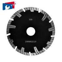 China 230mm Diamond Turbo Blade , Segmented Circular Disc for Cutting Masonry on sale
