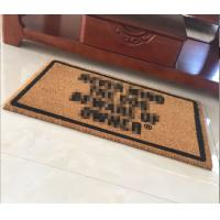 China Coir Door Mats China supplier,coco fiber Area Rugs China Supply on sale