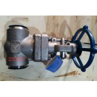 Buy cheap BS 5352 Socket Weld Stainless Steel Gate Valve Class 1500 With BW End product