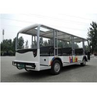 Buy cheap 23 Seats Electrical Shuttle Bus With Door from wholesalers
