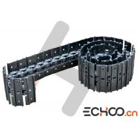 China Black X328 Bobcat Mini Excavator Track Chain With Steel Material Wear Resistant on sale