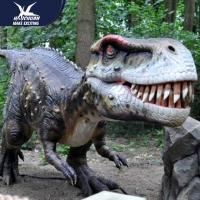 Best Zoo Equipement High Quality Realistic Dinosaur Models Handmade Robotic Dinosaur Model wholesale