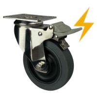 Cheap stainless steel antistatic castors for sale