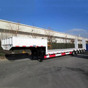 China CIMC 100 Ton Low Bed 50ft Multi Axle Modular Trailer on sale