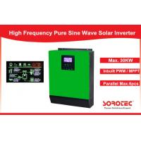 Cheap 1Ph in / 1Ph Out Solar Power Inverters System high power with Heat Sink , 1- 5KVA Capacity for sale