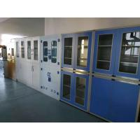 China Chemical Laboratory Steel Cabinet With Glass Door Storage Cabinet Used For Hospital on sale
