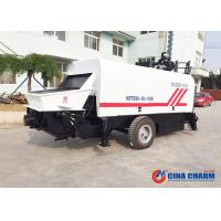 Best Mobile Trailer Mounted Concrete Pump 90m3 / H Capacity With Open Circuit wholesale