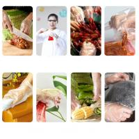 Best Disposable Clear Polyethylene Disposable Gloves / Hand Gloves For Food Industry wholesale