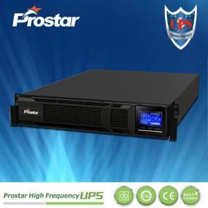 Buy cheap Prostar single phase 19 inch rack smart ups 3000va from wholesalers