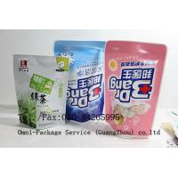 Best Personal Care Stand Up Pouch Packaging For Jelly / Pet Food and Washing Powder wholesale