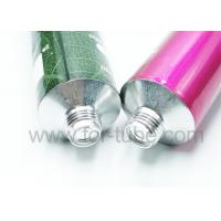 Cheap Recyclable Big Aluminum Tubes, Hair Coloring Tubes, Offset Printing Soft for sale